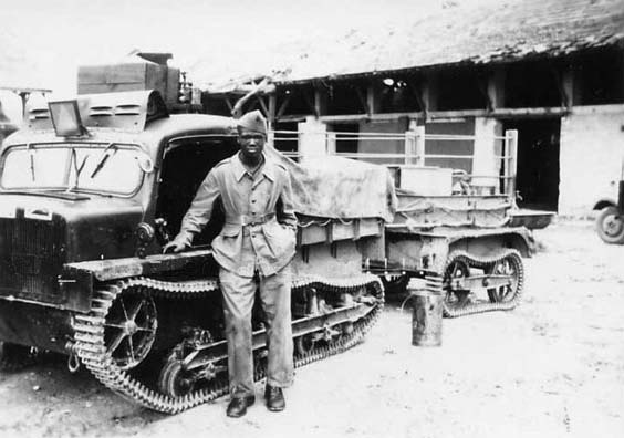 Modified UE as unarmoured tractor