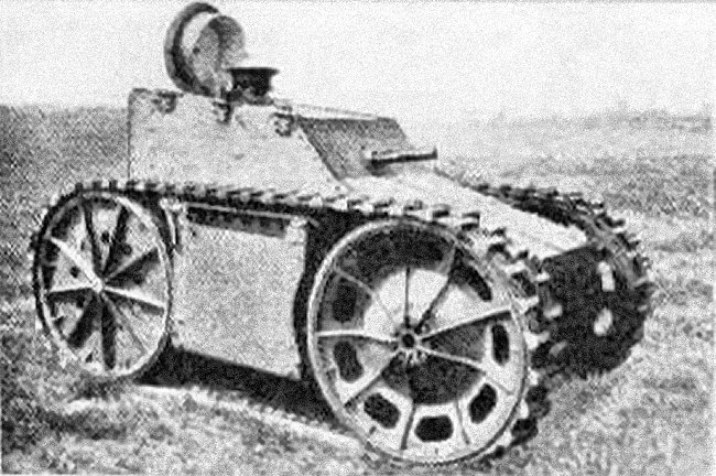 Cunningham T-1  Tank Development Chassis