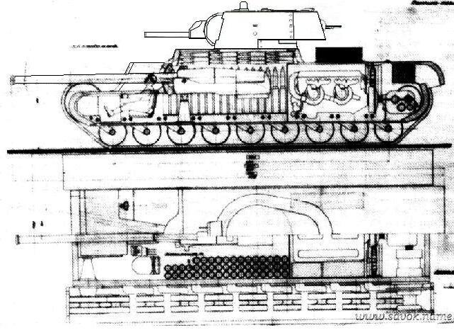схеме этот вариант КВ-4