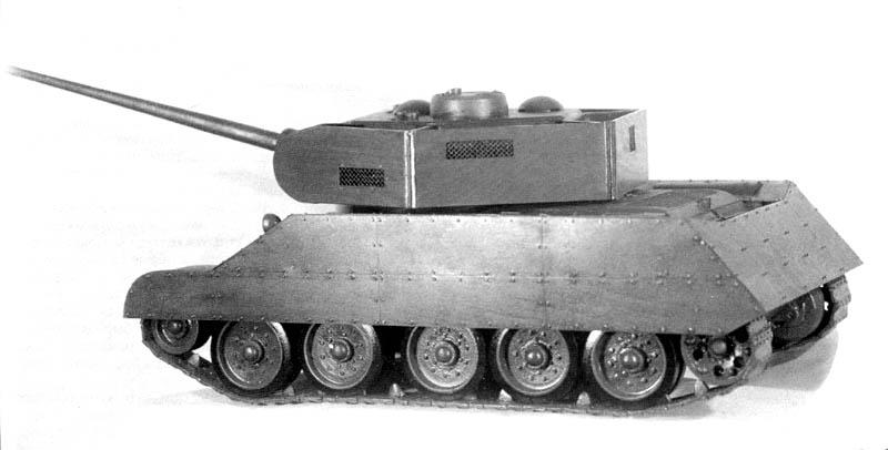 Средний танк Т-34-85 - История создания и особенности конструкции