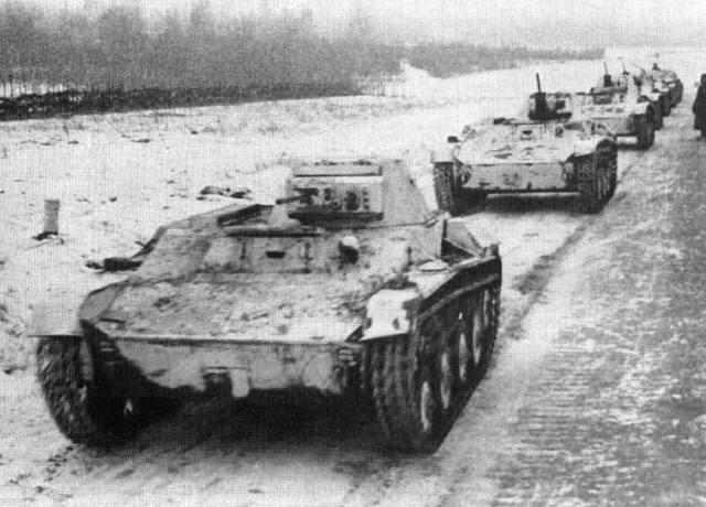 не менее 170 танков Т-60